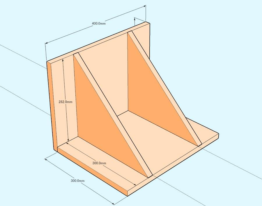 簡易クランプ台